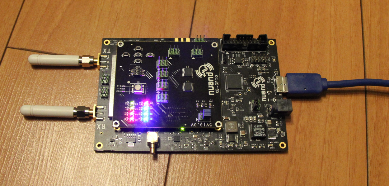 GPIO boards and bladeRFs - Nuand